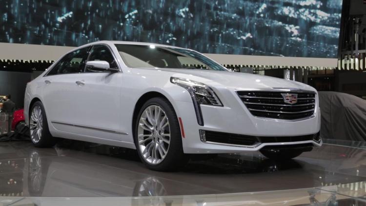 GM's Reuss Teases 2016 Cadillac CT6 Hybrid for Shanghai Auto Show
