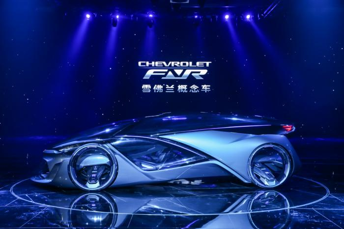 Chevrolet-FNR Self-Driving Concept Unveiled at Shanghai Auto Show