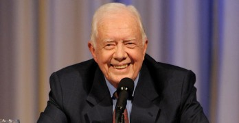 Former President Jimmy Carter says he's cancer-free